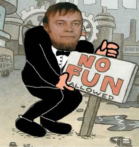 No Fun Burgeri