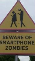 Varoitus nykyajan zombeista