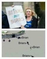 Maailma tarvitsee Brianeja