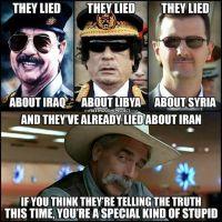 Kerran valehtelija, aina valehtelija!