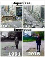 Pohjolan Japanin ja Japanin ero