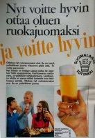 Ottakaa olutta ruokajuomaksi