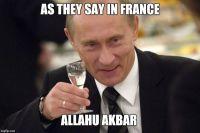 Kuten Ranskassa sanotaan...