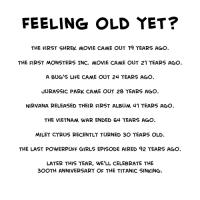 Tunnetko itsesi jo vanhaksi