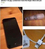 iPhone myynnissä