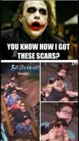 Jokeri kertoo arpiensa alkuperän