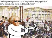 Robespierren politiikka