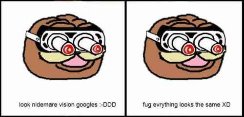 nightmare goggles