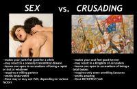 Seksi vs ristiretkeily