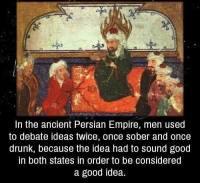Muinaista persialaista viisautta