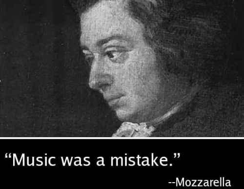 Musiikki oli virhe