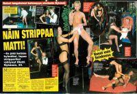 Näin strippaa matti