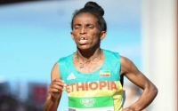 Etiopian juoksulupaus Girmawit Gebrzihair, 16 vuotta