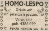 homo lespo