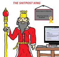 Shitpost king