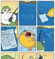 Reilu kalastaja :)