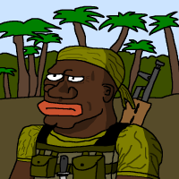 Peloton sotapäällikkö M'Bantuve