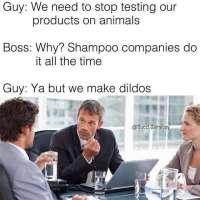 Stop testing!