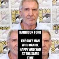 Harrisonin monet kasvot