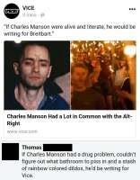 Charles Manson on alt-right!