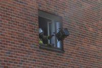 Tulipalo riehui kerrostaloasunnossa Kotkassa – kuva näyttää, kui