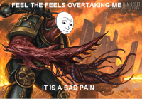 It is a bad pain