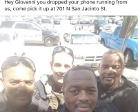 Löydettiin sun puhelin Giovanni