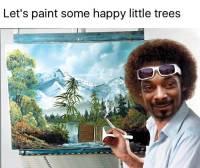 Maalasi iloisia pikku puita