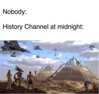 """""""Historia""""-kanava keskiyöllä"""