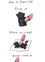 Näin piirretään kissa :3