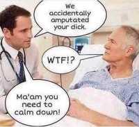 Rauhoitu nainen!