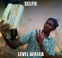 Afrikkalainen selfie