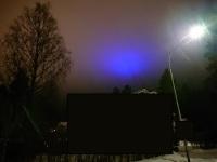 sininen valo taivaalla 2019