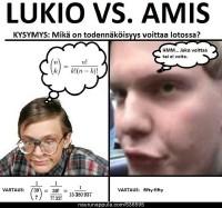 Lukio vs. Amis