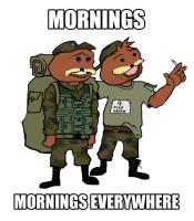 Helvetisti aamuja