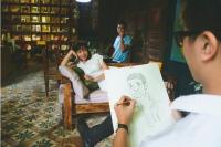 Piirsi kamunsa yhden aasialaisen tyttönsä sijasta