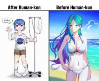 human-kun