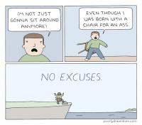 Ei tekosyitä!