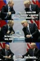 Donald-setä lyö vetoa
