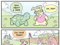 Kilpikonna ja jänis