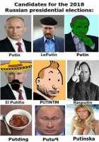 Putinentin vaalit 2018 Venäjällä