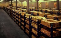 156 miljardin punnan edestä kultaa