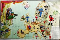 eurooppa kartalla