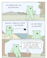 Paluu luontoon eskaloituu