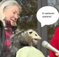 Vihainen opossumi