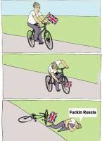 Fucking Russia!