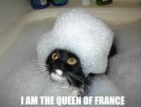 Ranskan kuningatar kylvyssä :3