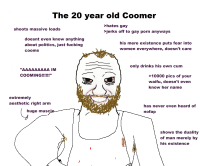 The 20 year old coomer
