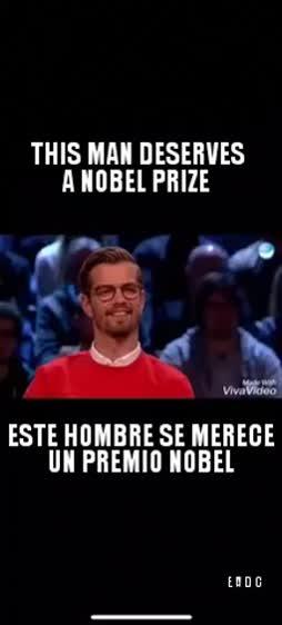 Joku Nobeli tälle