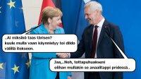 Euroopan hävittäjät kättelee